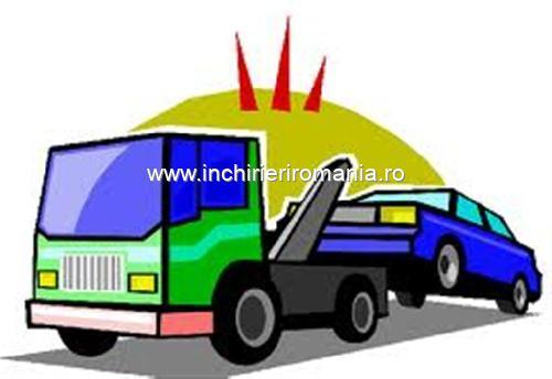 Tractari auto, transport rable, accidentate