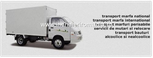 Inchiriere Tiruri,Camioane de transport marfa